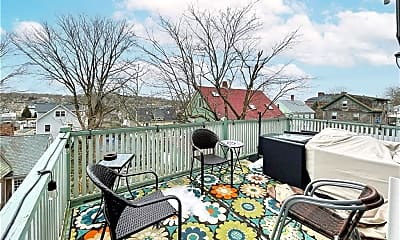 Patio / Deck, 569 Spring St 2, 2