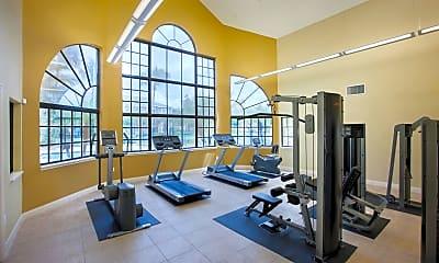Fitness Weight Room, ARIUM Lakeside, 1