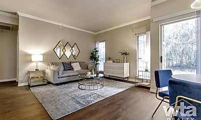 Living Room, 4201 Monterey Oaks Blvd, 1