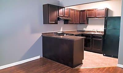 Kitchen, Oakwood Place Apartments, 0