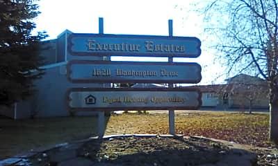 Executive Estates Apartments, 1