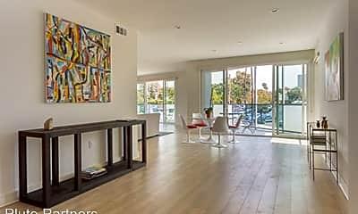 Living Room, 1157 S. Bundy drive, 1