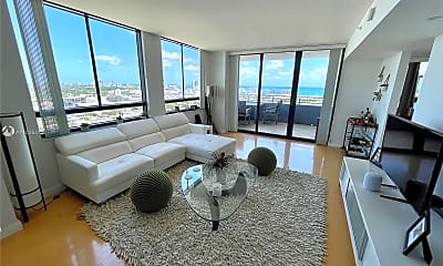Living Room, 1330 West Ave 3007, 0