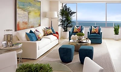 Living Room, 1221 Ocean Avenue, 0