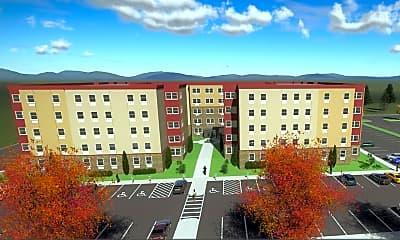 Building, Advantage Point Student Apartments, 0