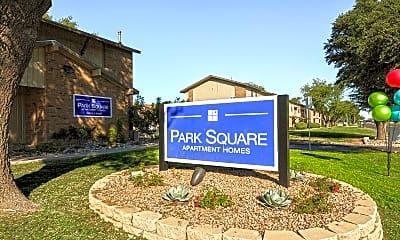 Community Signage, Park Square, 2