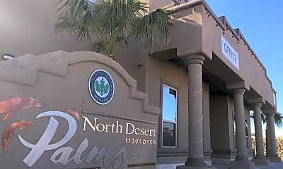 Community Signage, North Desert Palms, 2