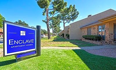 Community Signage, Enclave Apartments, 2