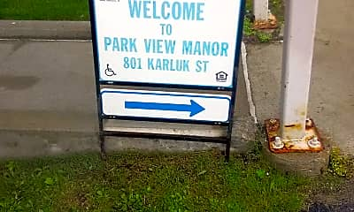 Park View Manor, 1