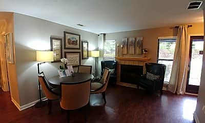 Dining Room, River Ridge, 1
