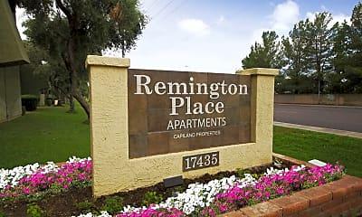 Community Signage, Remington Place, 2