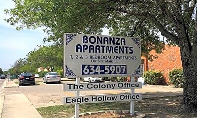 BONANZA APARTMENTS, 1