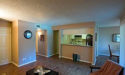 Living Room, Frankford Flats, 1