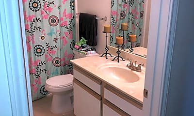 Bathroom, Tealwood Place Apartments, 2