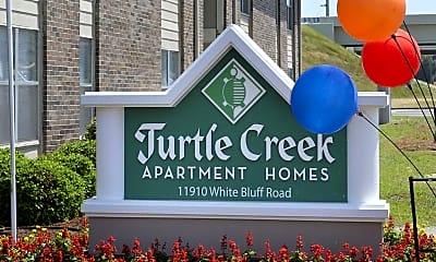 Community Signage, Turtle Creek, 0