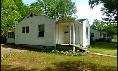 Building, 6601 Kavanaugh Place, 1