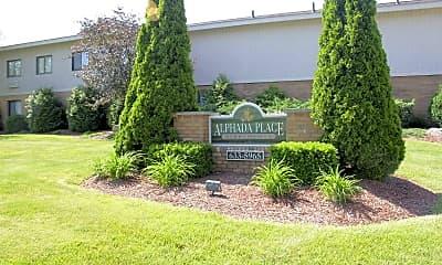 Community Signage, Alphada Place, 0