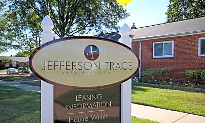 Community Signage, Jefferson Trace, 2