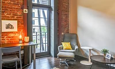 Living Room, Foundry Flats, 1