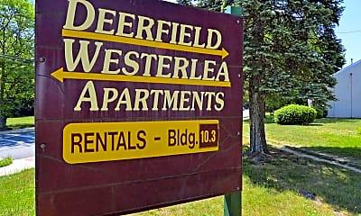 Community Signage, Westerlea Apartments, 2