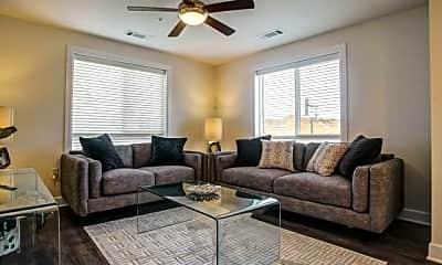 Living Room, Watercolors of Centerton Apartments, 0