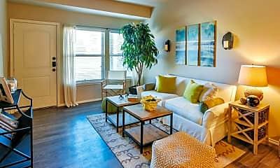 Living Room, Portofino Apartments, 1