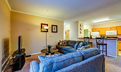 Living Room, Summit Rise, 1