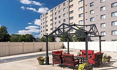 Patio / Deck, Sky Gate Apartments, 2