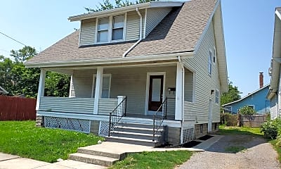 Building, 619 N Collett St, 1