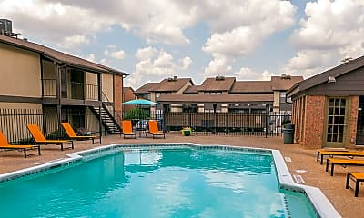 Pool, Chelsea Creek Apartments, 2