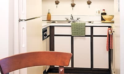 Kitchen, Sunset Plaza Apartments, 0