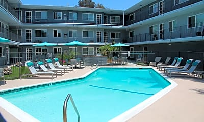 Pool, Mona Lisa Apartments, 0