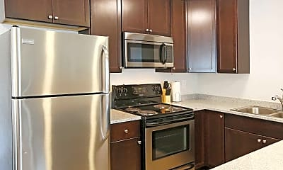 Kitchen, Moran Apartments, 0