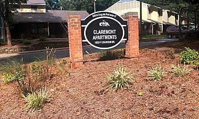 Claremont Apartments, 1