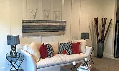 Living Room, Haywood Village Apartments, 0