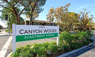 Community Signage, Canyon Woods Apartments, 2