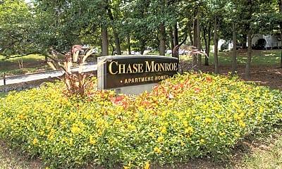 Community Signage, Chase On Monroe, 2