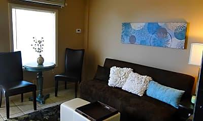Living Room, Lion's Den Efficiency Apartments, 1