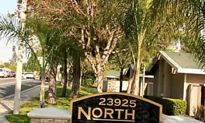 Community Signage, Northwoods Apartments, 2