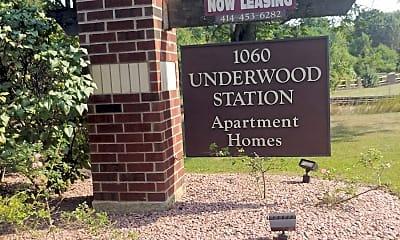 Underwood Station Apartments, 1
