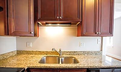 Kitchen, Historic Boylan Apartments, 2