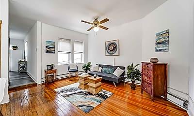 Living Room, 197 Cambridge Ave 2, 1