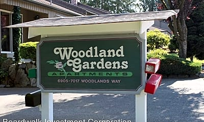 Community Signage, 7001 Woodlands Way, 1