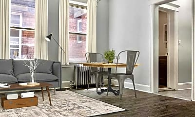 Living Room, 93 Monticello Ave 2R, 0