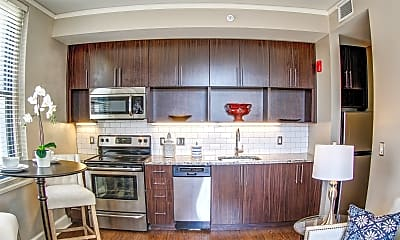 Kitchen, East 9 at Pickwick Plaza Apartments, 1