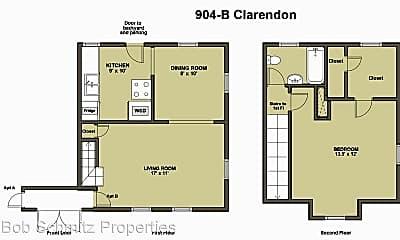 Building, 904 Clarendon St, 2