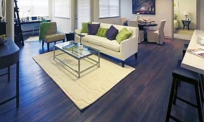 Living Room, Bridgeway at Chattanooga, 1
