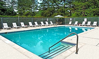 Pool, Rohoic Wood Apartments and Townhomes, 1