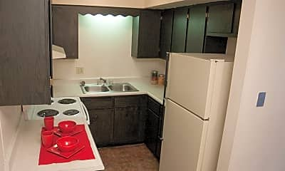 Kitchen, Carriage Place Apartments, 2