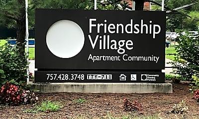 FRIENDSHIP VILLAGE, 1